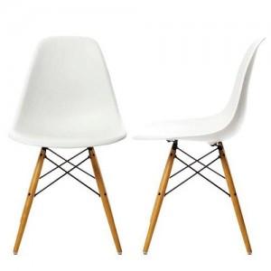 Prachtige design eetkamerstoelen replica dsw chair nu for Replica vitra eames