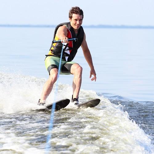 1 uur wakeboarden of waterskiën bij BreakOut Grunopark